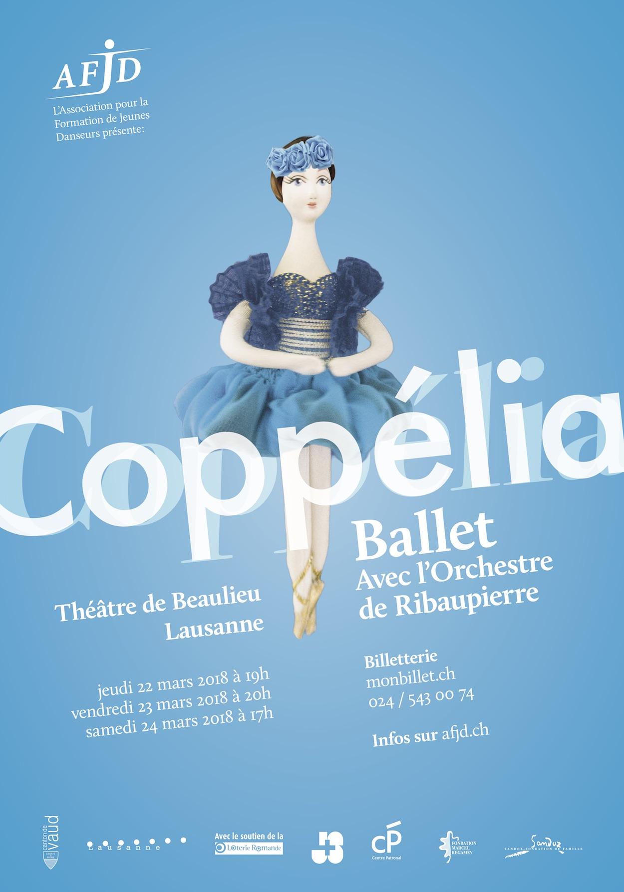 Orchestre de Ribaupierre - Coppélia