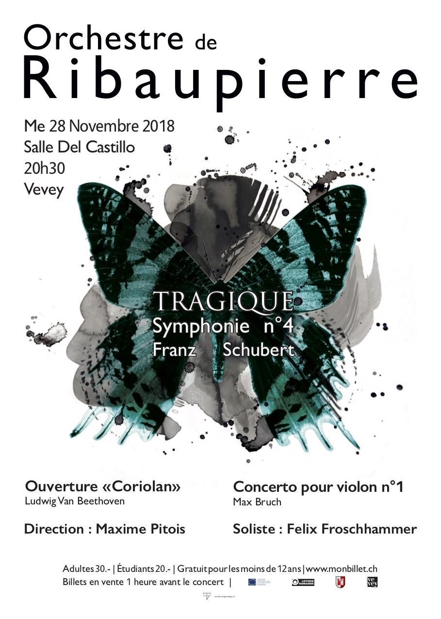 Orchestre de Ribaupierre - 4ème symphonie de Schubert