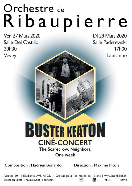 Orchestre de Ribaupierre - Buster Keaton
